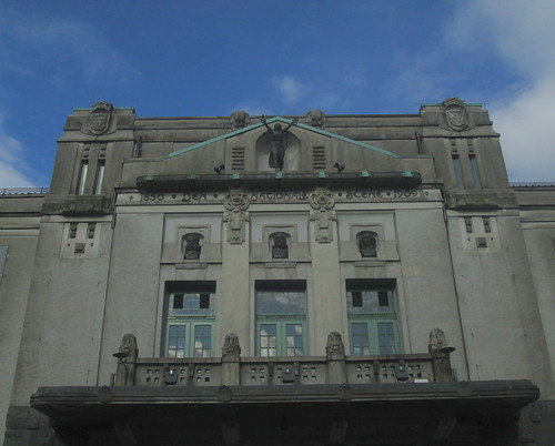 Upper Frontage, The National Theatre, Bergen