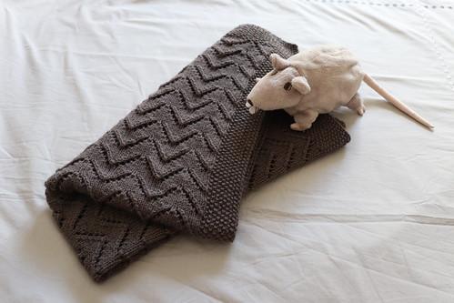 Baby's Car Seat Blanket