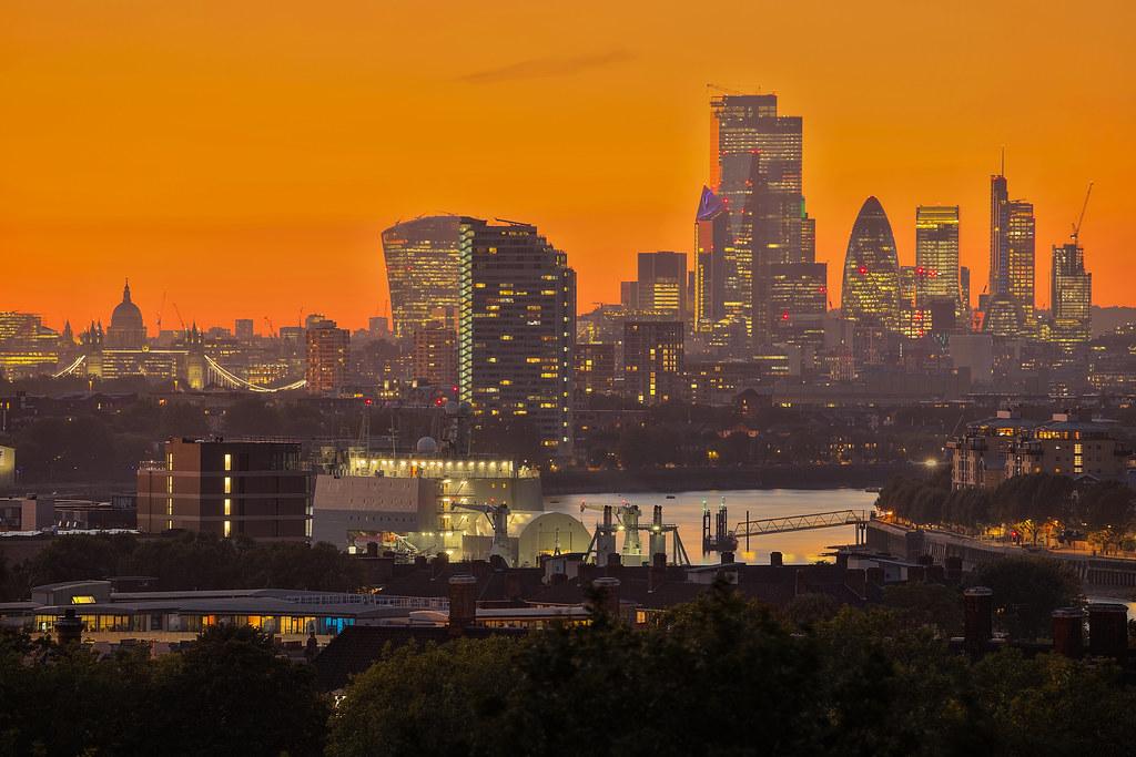Tornare alla vita / Coming back to life (City of London from Greenwich, London, United Kingdom)