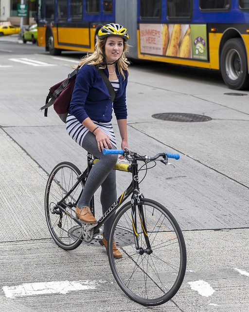 Cycling in Seattle