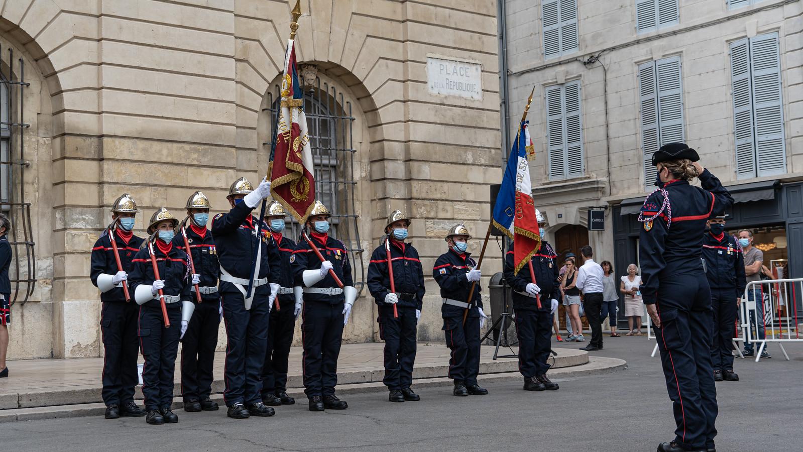 Prise de commandement - Arles - 17 juin 2021