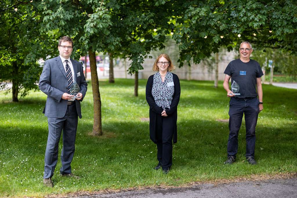 Professor Cathryn Mitchell, Dr Simon Lewis and Professor Toby Jenkins