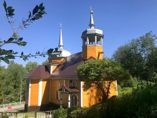 Церковь святого апостола Петра п. Марциальные воды Кондопожского района