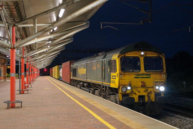 4S83 London Gateway - Crewe BH/Coatbridge FLT | Rugby | 66545. 17/06/2021