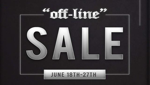 ⭐️ Off-Line x 50% Off Sale - SALE ⭐️