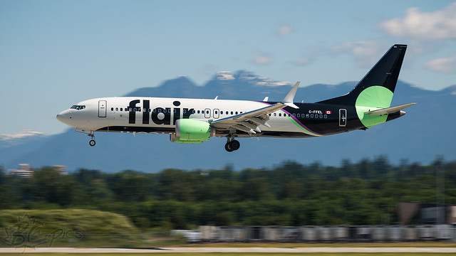 C-FFEL - Flair Airlines - Boeing 737-8 MAX
