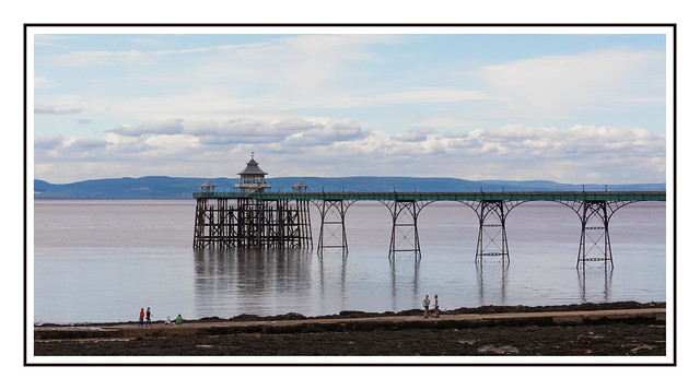 An afternoon by Clevedon Pier