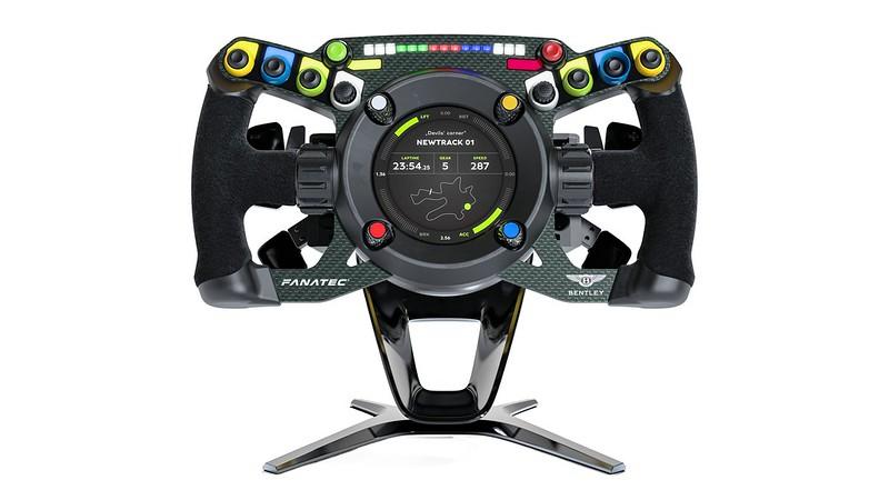 Fanatec Podium Steering Wheel Bentley GT3 desk/wall mount