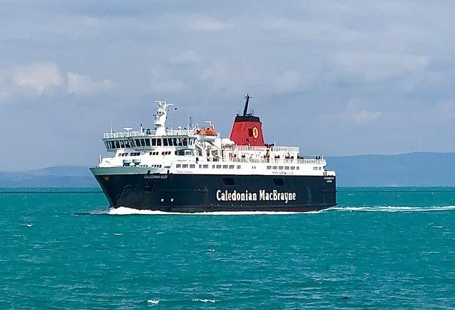 MV Caledonian Isles and blue seas
