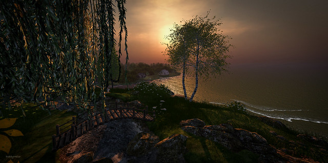 Hilltop View of a Sunset ~ Luane's World