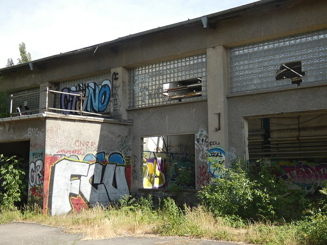 Vergessene Orte: Der ehemalige VEB Kühlautomat in Johannisthal