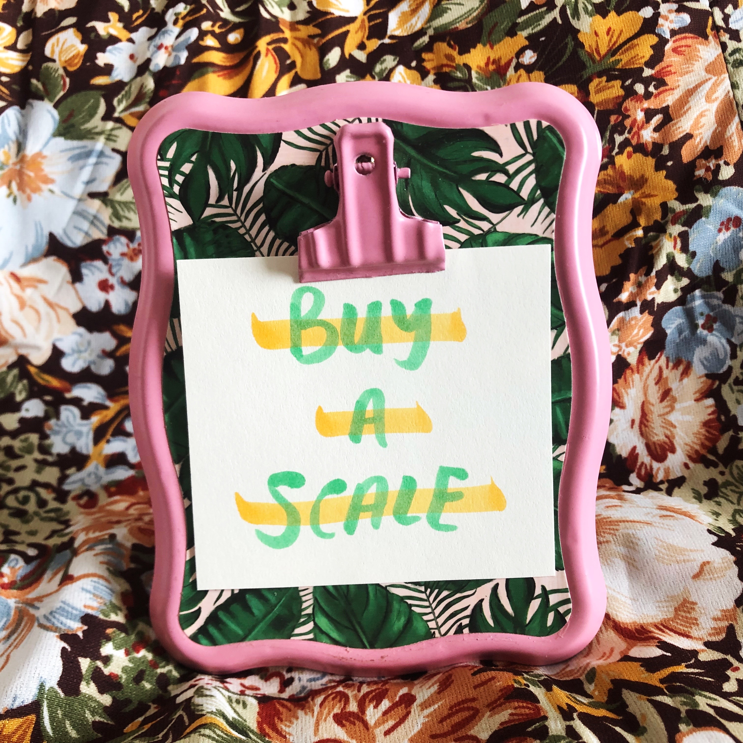 Reseller Tips 4 • Buy a Scale