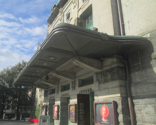 Entrance Canopy, The National Theatre, Bergen, Reverse Angle