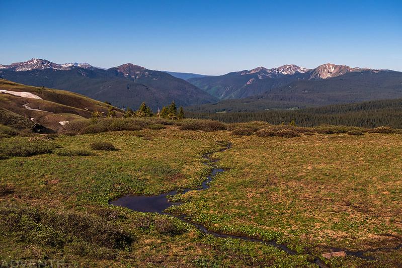 Rico Mountains View