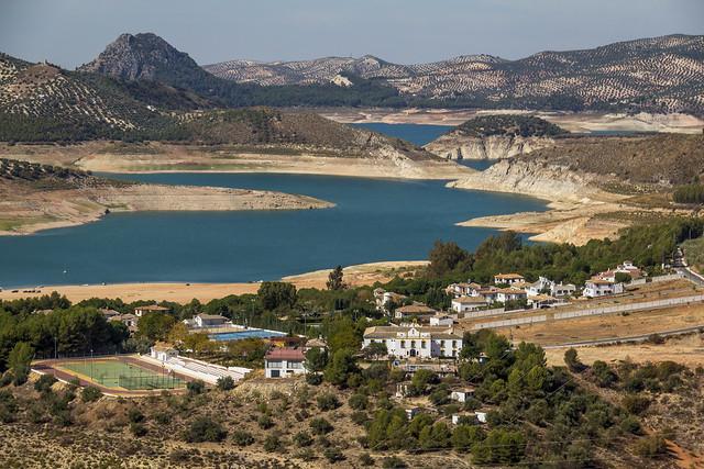 Spain - Cordoba - Iznajar - Reservoir