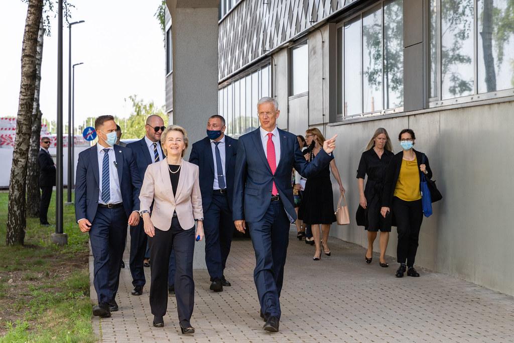 Eiropas Komisijas priekšsēdētājas Urzulas fon der Leienas vizīte RTU