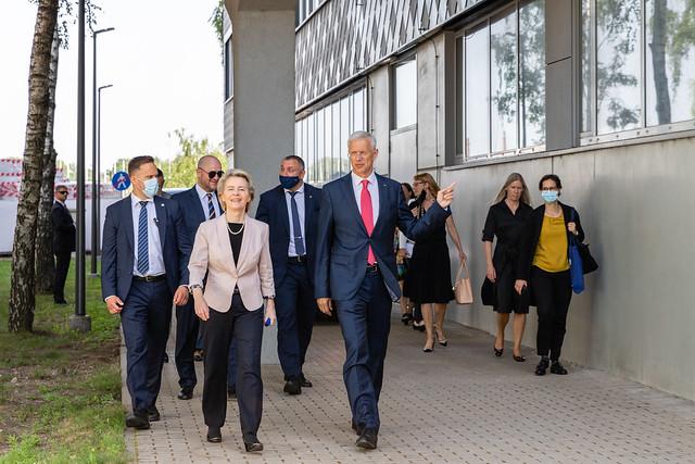 Eiropas Komisijas priekšsēdētāja Urzula fon der Leiena viesojas RTU