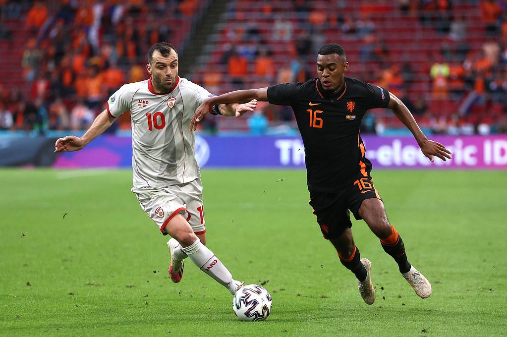 UEFA Euro 2020 - Group C, Matchday 3 - North Macedonia 0:3 Netherlands - Johan Cruijff ArenA, Amsterdam - June 21, 2021