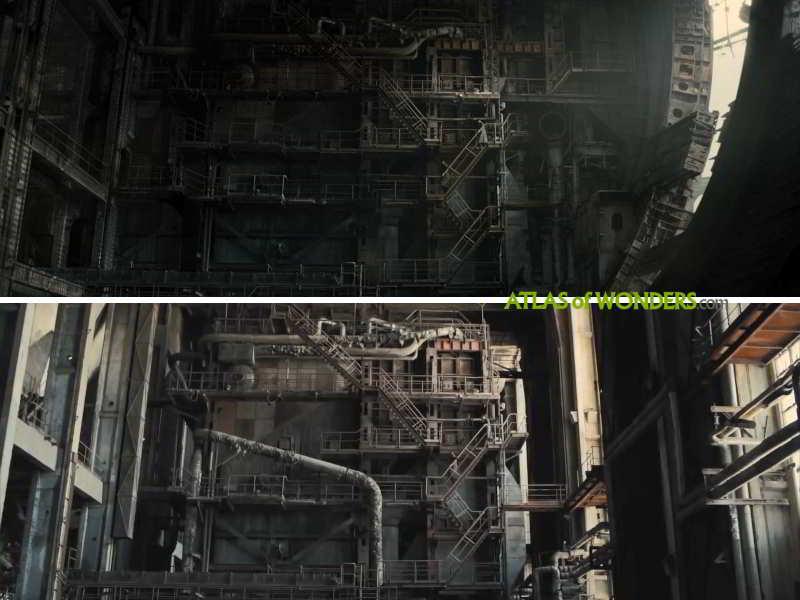 Blade Runner abandoned factory