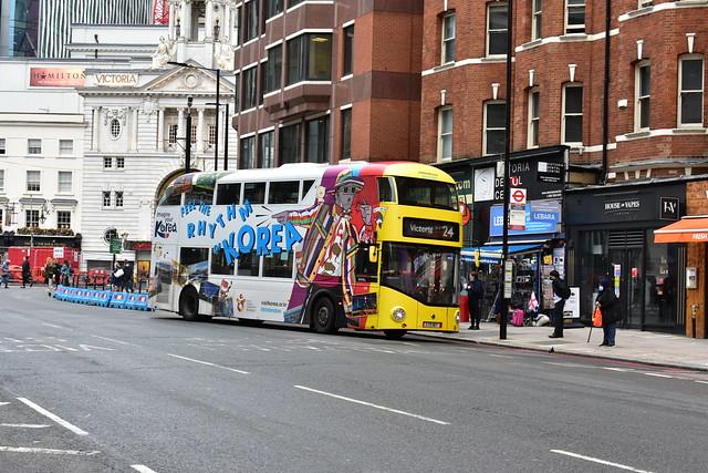 Abellio London (LT167 LTZ1167) - Route 24