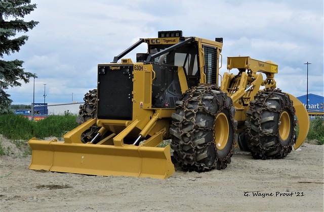 Tigercat 630H Grapple Skidder