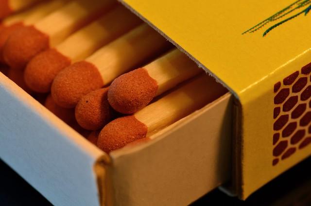 Matchsticks in a Box