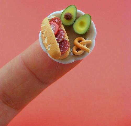 Beautiful Miniature Food Sculpture