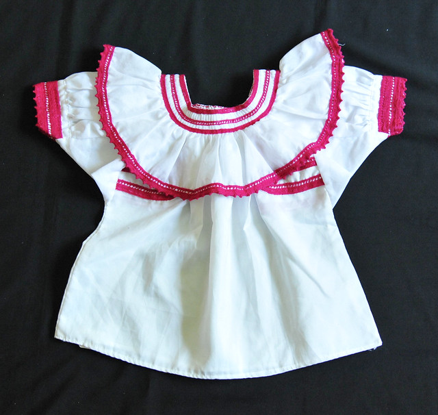 Mexico Tojolabal Blouse Chiapas Clothing Maya