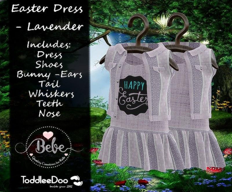 Easter Dress -Lavender AD