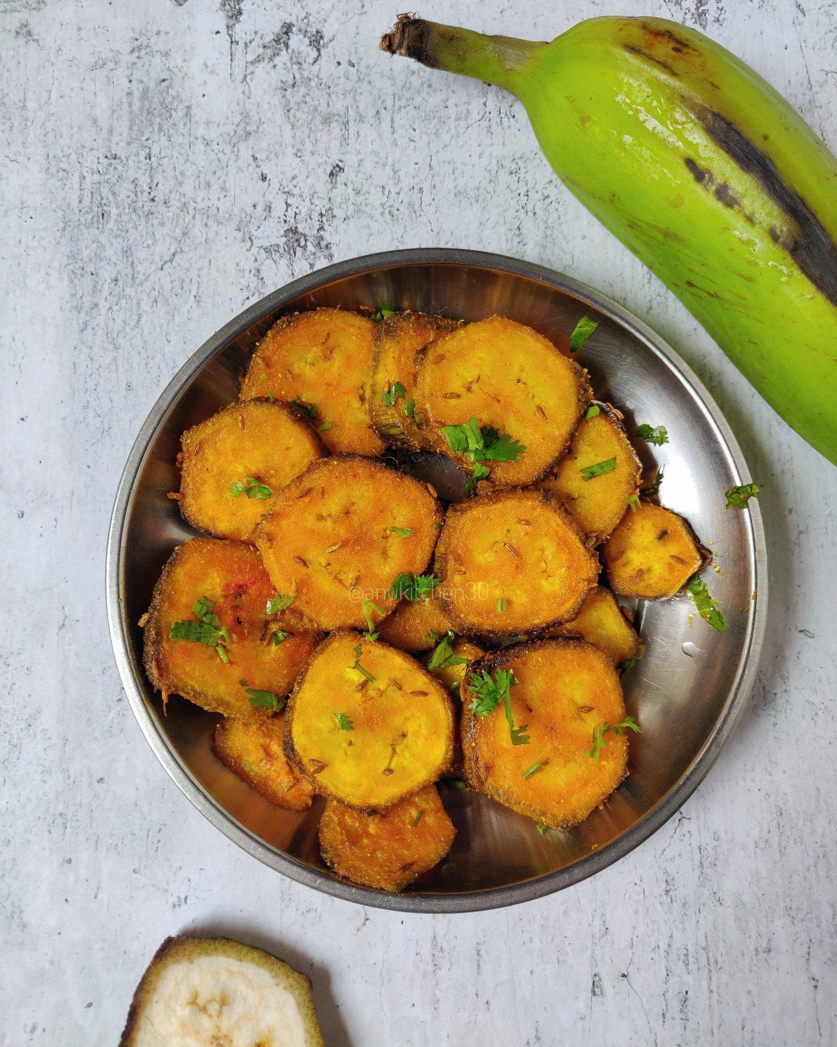 ಬಾಳೆಕಾಯಿ ಫ್ರೈ | Raw Banana Fry