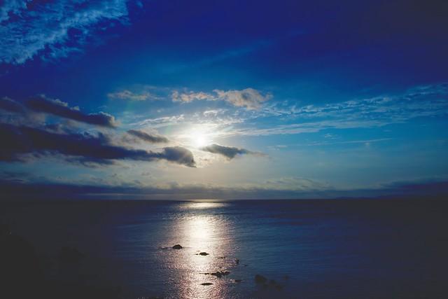 i tre momenti di tramonto