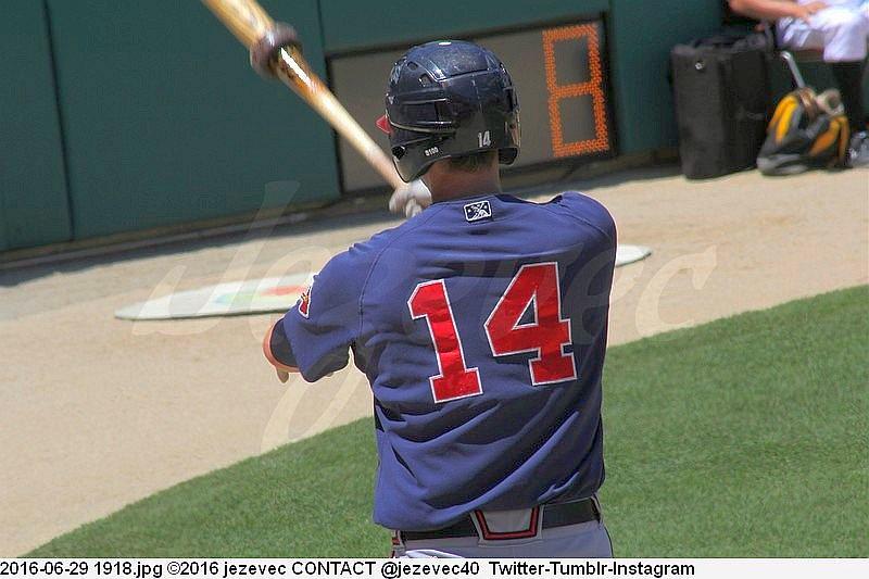 2016-06-29 1918 BASEBALL Gwinnett Braves @ Indianapolis Indians