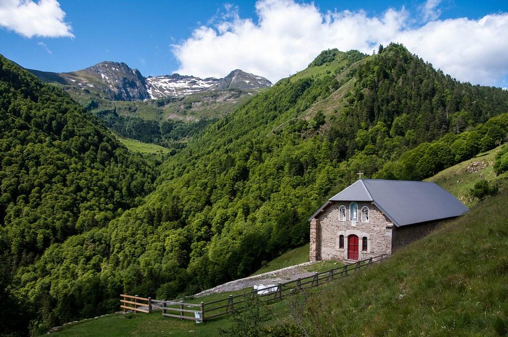 Balade à la Chapelle de l'Isard (Ariège)