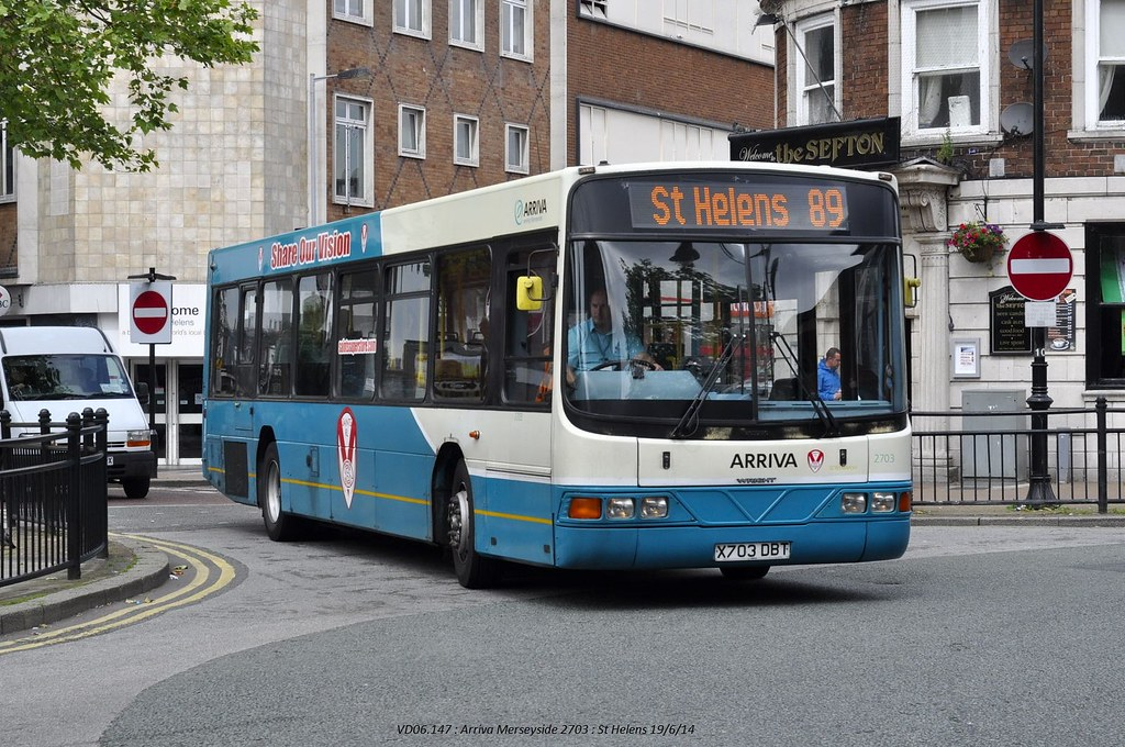 Arriva North West 2703 140619 St Helens*
