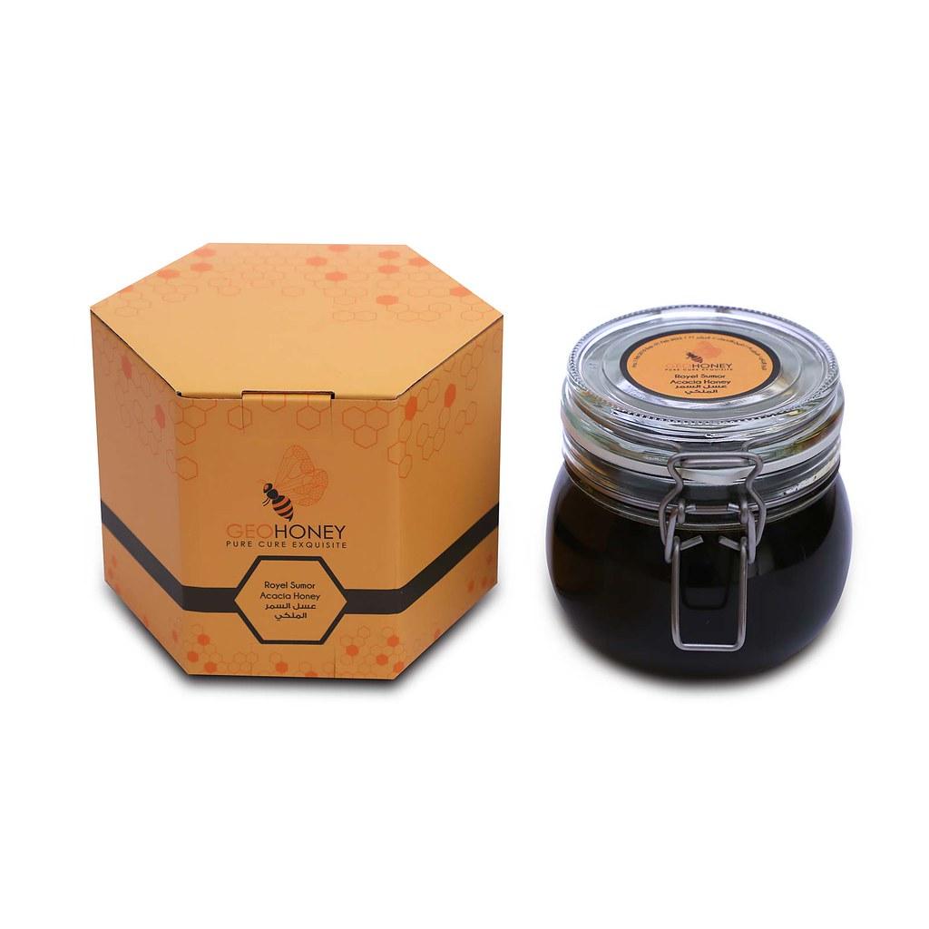 Acacia Sumor Honey 350g - GeoHoney