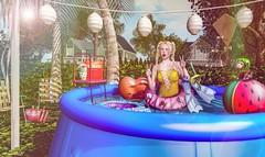 ・°。🍉 ♡ Look 1423 ♡ °。SL18B - Happy Birthday Second Life!