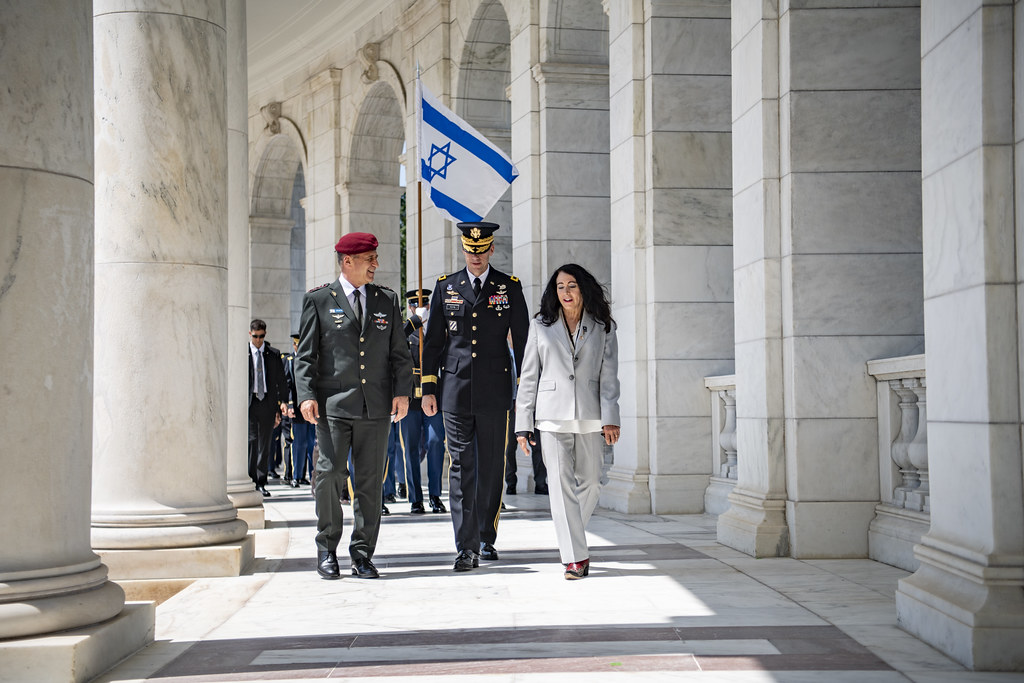 Israel Defense Forces Chief of the General Staff Lt. Gen. Aviv Kohavi Participates in an Armed Forces Full Honors Wreath-Laying Ceremony at the Tomb of the Unknown Soldier