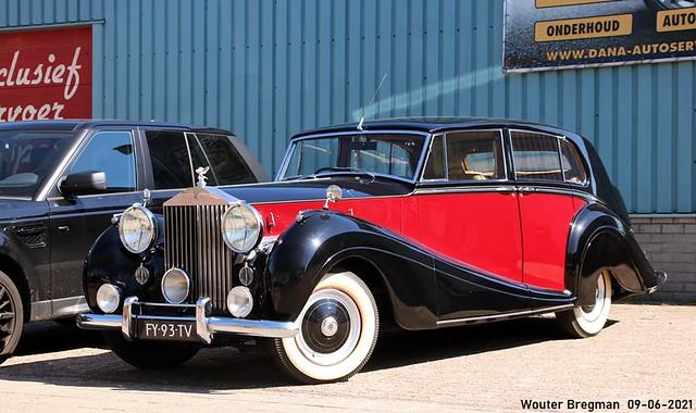 Rolls-Royce Silver Wraith 1953