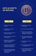 Dos and Dont's of Bitcoin