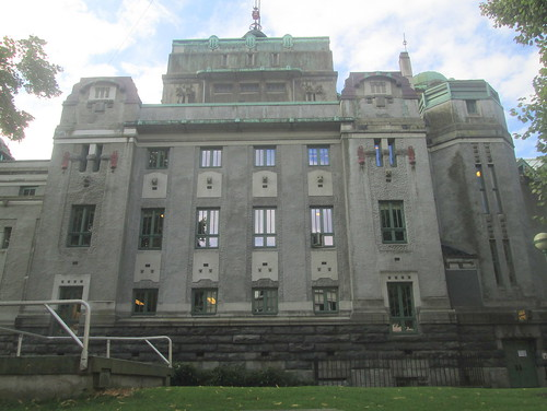 Side of The National Theatre Building, Bergen