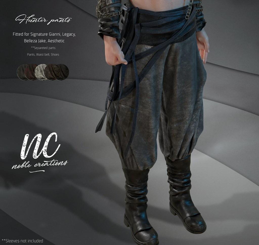 [NC] – Hunter Pants – Jail Event