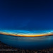 Fish-Eye View of Noctilucent Clouds (June 20, 2021)