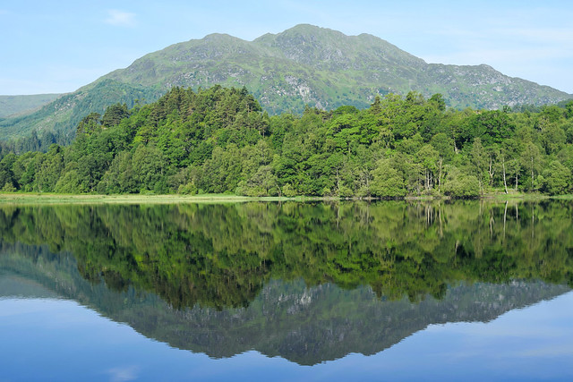 Reflections on the loch #1