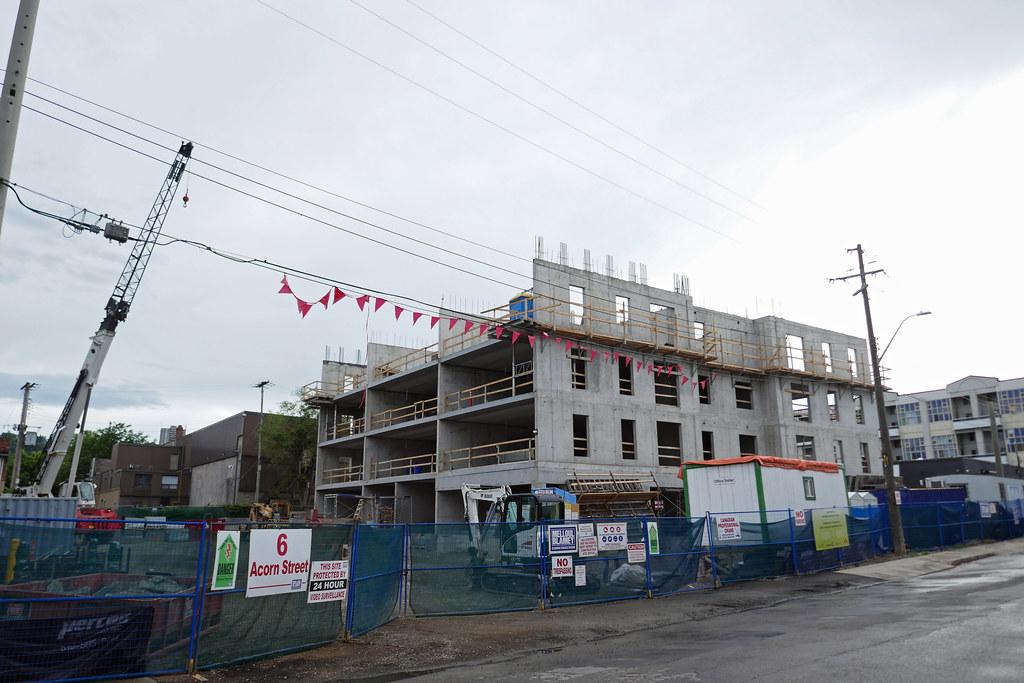 Jack Macdonald Kiwanis apartments construction 6 Acorn St.