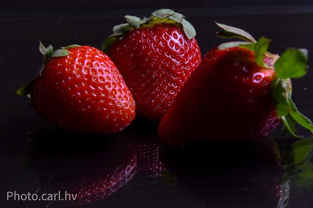 Mirror Strawberries
