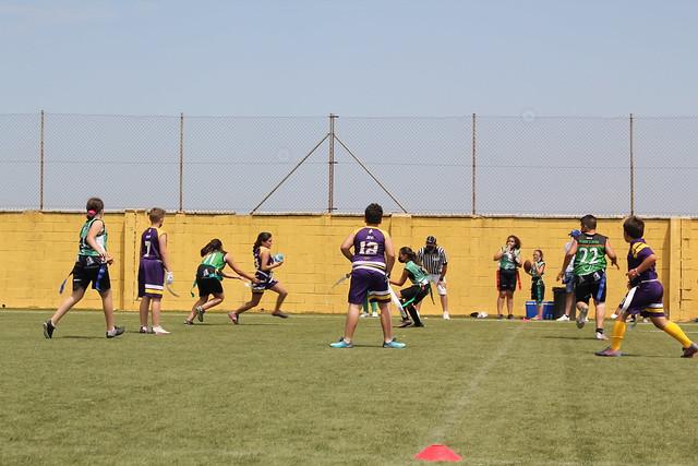 Los equipos infantiles de Black Storks y Linces se enfrentan en el Campo de Rugby San Jerónimo - Autora ANA CARMONA