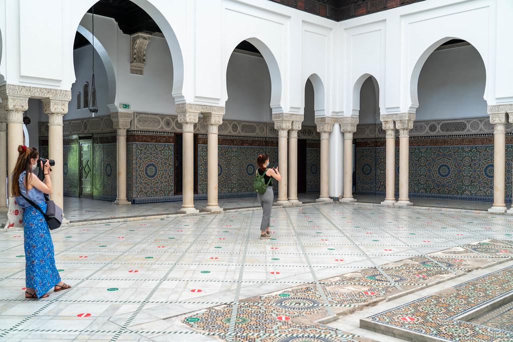 La grande mosquée de Paris