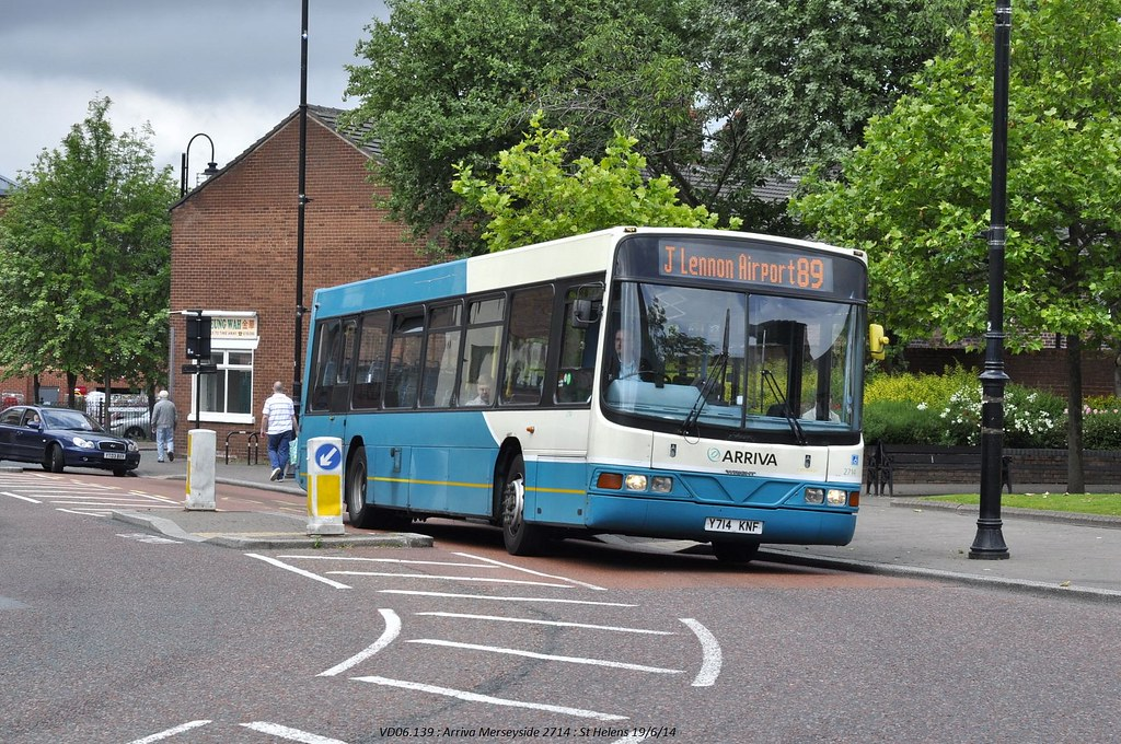 Arriva North West 2714 140619 St Helens*