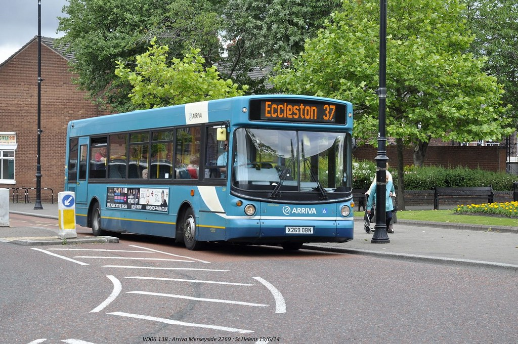 Arriva North West 2269 140619 St Helens*