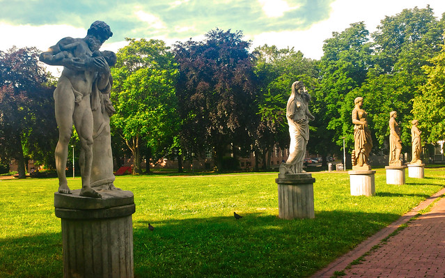 Skulpturen im Stadtgarten